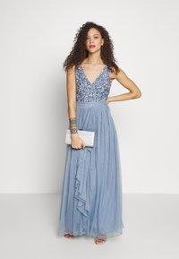 SISTA GLAM PETITE - YASMIN - Společenské šaty - blue - 1
