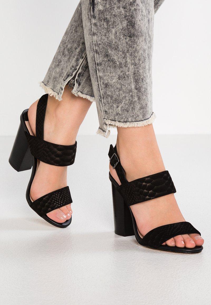 Siren - Sandaler med høye hæler - black