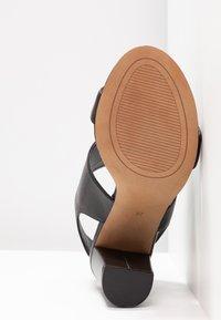 Siren - LAKEN - Højhælede sandaletter / Højhælede sandaler - black - 6