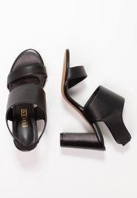 Siren - LAKEN - Højhælede sandaletter / Højhælede sandaler - black - 3