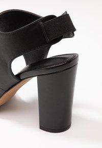 Siren - LAKEN - Højhælede sandaletter / Højhælede sandaler - black - 2