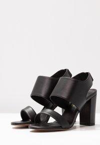 Siren - LAKEN - Højhælede sandaletter / Højhælede sandaler - black - 4