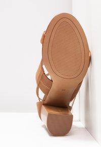 Siren - KUDOS - High heeled sandals - tan - 6