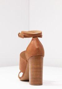 Siren - KUDOS - High heeled sandals - tan - 5
