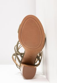 Siren - KANDY - Højhælede sandaletter / Højhælede sandaler - natural/khaki - 6