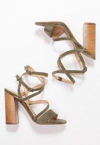 Siren - KANDY - Højhælede sandaletter / Højhælede sandaler - natural/khaki - 3