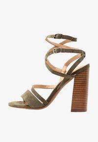 Siren - KANDY - Højhælede sandaletter / Højhælede sandaler - natural/khaki - 1