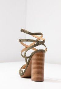 Siren - KANDY - Højhælede sandaletter / Højhælede sandaler - natural/khaki - 5