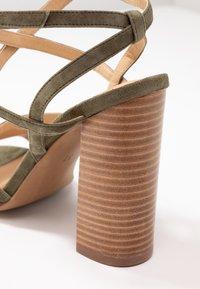 Siren - KANDY - Højhælede sandaletter / Højhælede sandaler - natural/khaki - 2