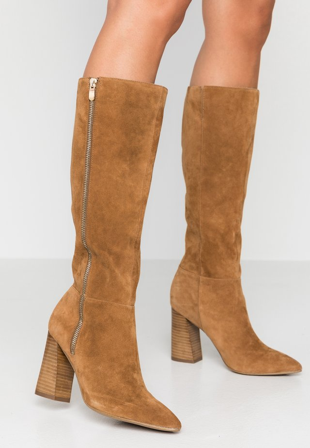 PIKELET - High heeled boots - tan