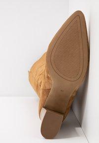 Siren - PIKELET - Højhælede støvler - tan - 6