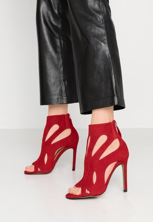 DARCY - High heeled sandals - red