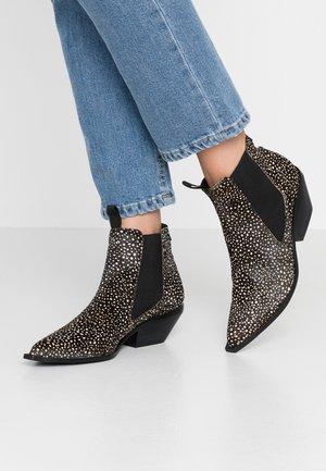 NARA - Kotníková obuv - black