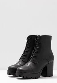 Siren - MACK - High heeled ankle boots - black - 4
