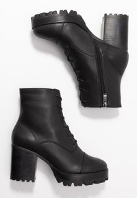 Siren - MACK - High heeled ankle boots - black - 3