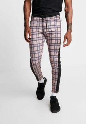 CHECK JOGGERS - Pantaloni sportivi - heritage