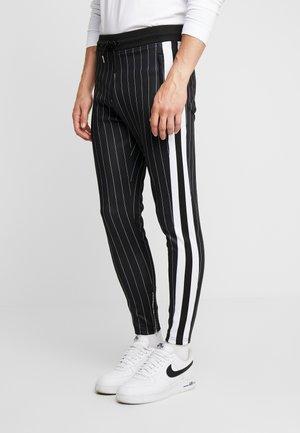 PINSTRIPE - Pantaloni sportivi - black