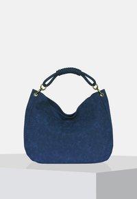 Silvio Tossi - Bolso shopping - dark blue - 0