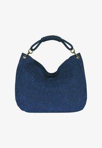 Silvio Tossi - Bolso shopping - dark blue - 1