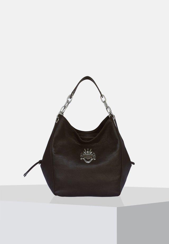 Shopping bag - Dark brown/black