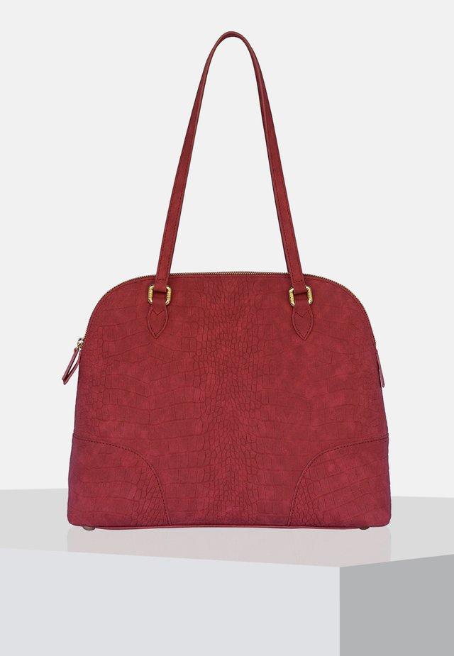 Handväska - burgundy