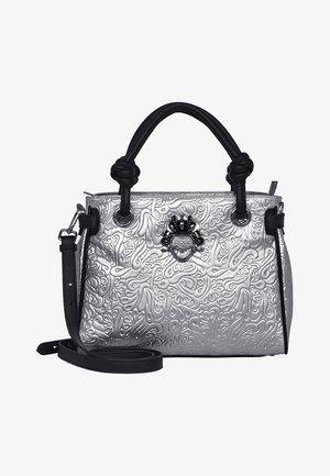 Handbag - metallic silver