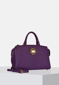 Silvio Tossi - Handbag - purple - 3