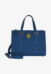 Silvio Tossi - Handbag - dark blue - 1