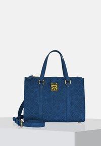 Silvio Tossi - Handbag - dark blue - 0