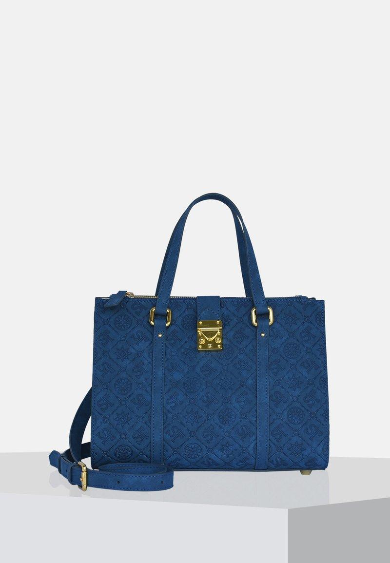 Silvio Tossi - Handbag - dark blue