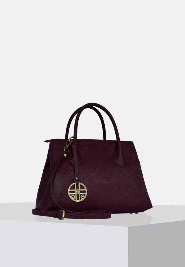 Handtasche - pflaume