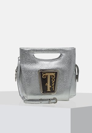 Handbag - metallic silver