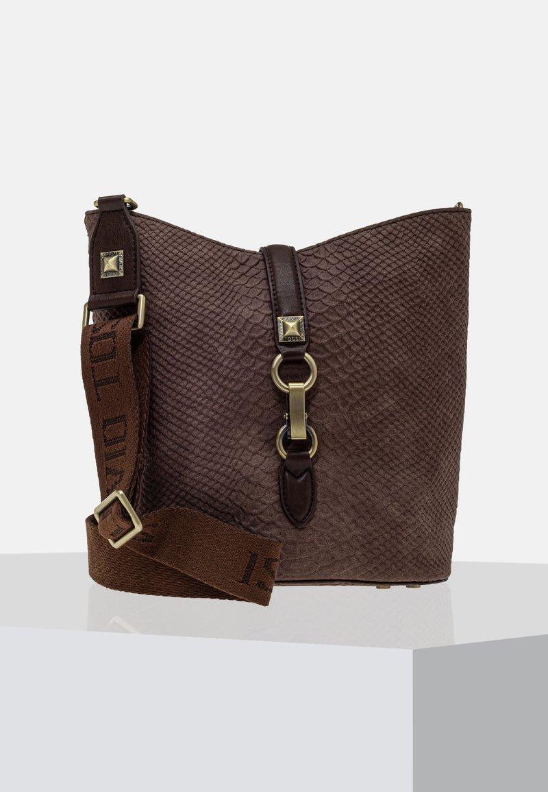 Silvio Tossi - Across body bag - brown