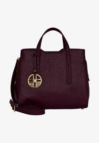 Silvio Tossi - Handbag - plum - 1