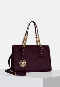 Silvio Tossi - Handbag - plum - 0