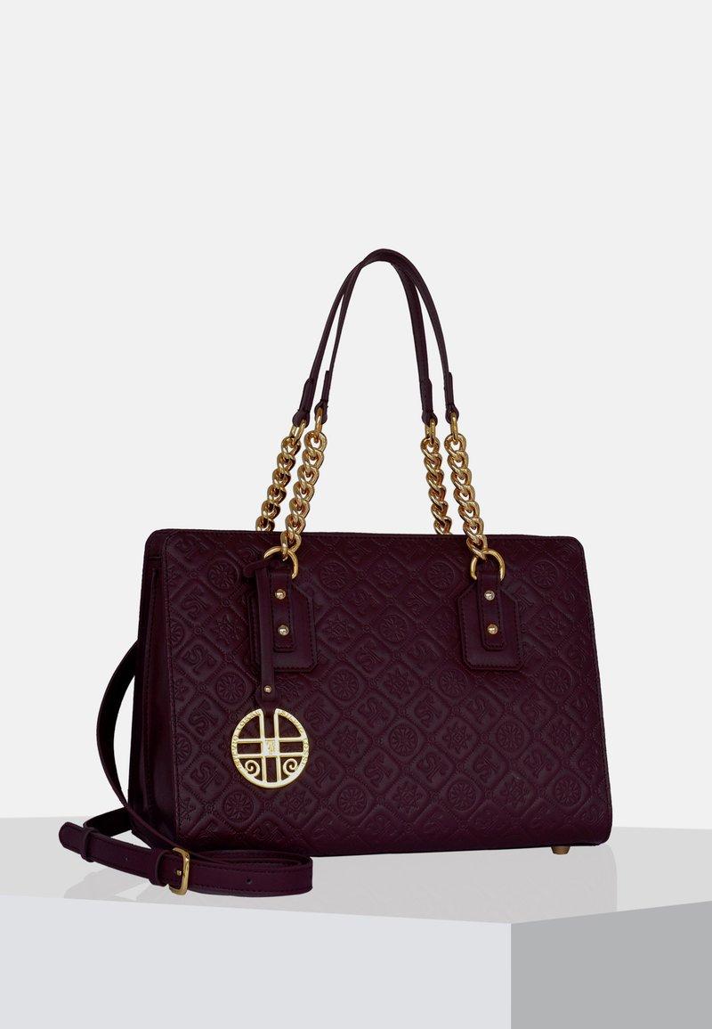 Silvio Tossi - Handbag - plum