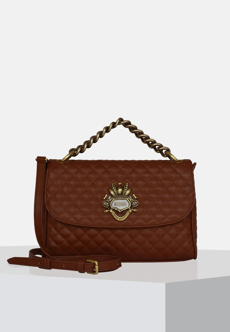 Silvio Tossi - Handbag - dark whiskey