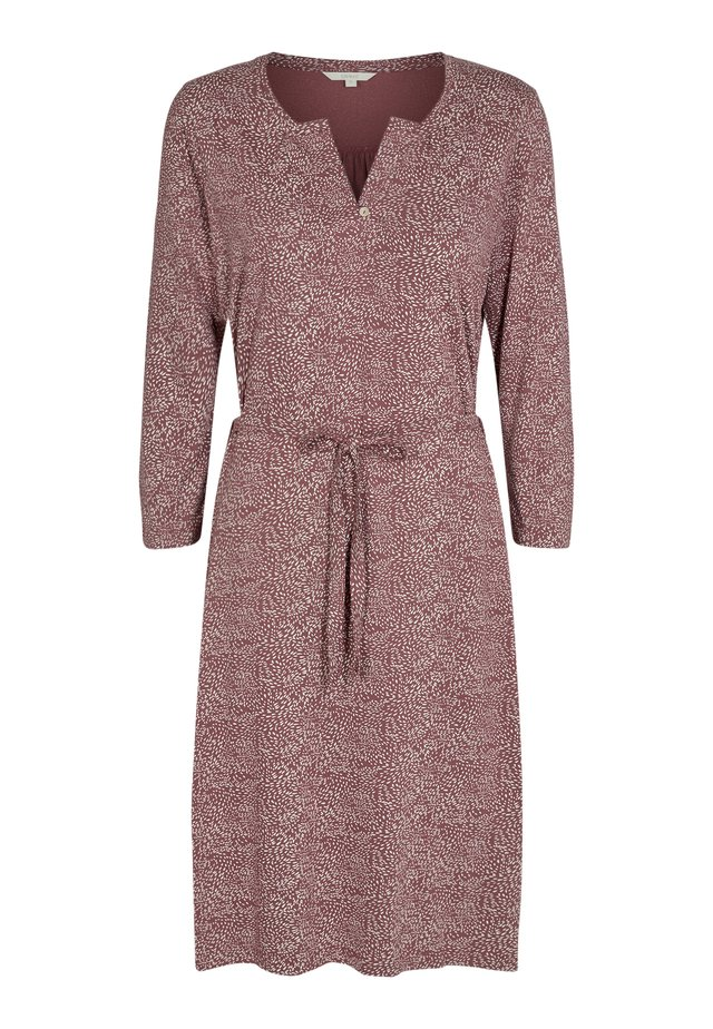 CILKE - Day dress - rose brown