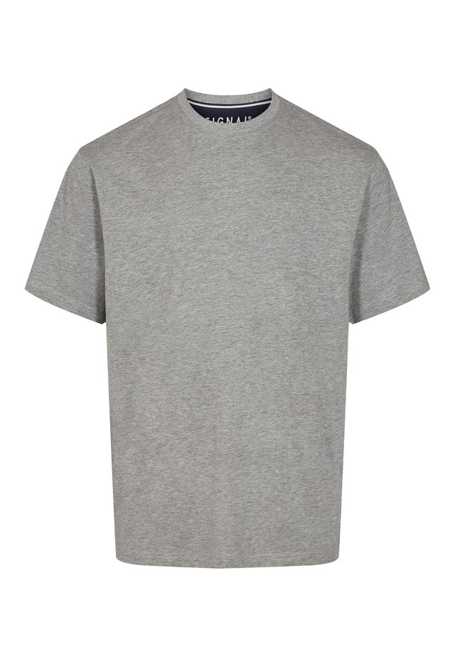 EDDY  - Basic T-shirt - light grey melange