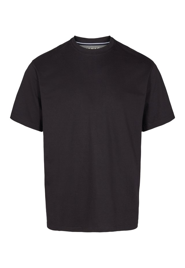 EDDY  - Basic T-shirt - black