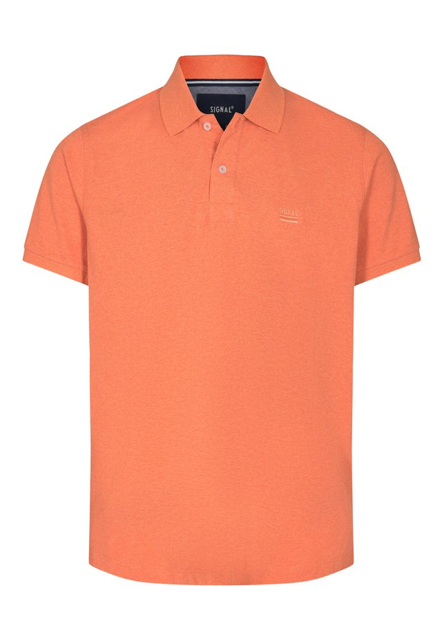 NICKY - Polo shirt - orange fire mel