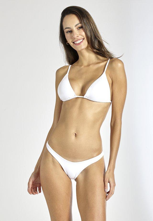 MOJITO BRAZILIAN - Bikini bottoms - white