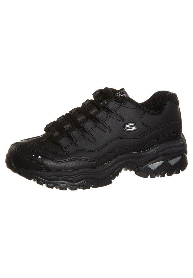 ENERGY - Sneakers basse - schwarz