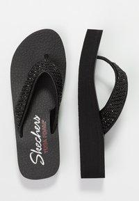 Skechers - VINYASA BEACH LEAGUE - Sandalias de dedo - black - 3
