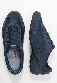 Skechers - BREATHE EASY - Trainers - navy/blue - 3