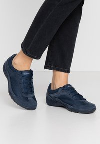 Skechers - BREATHE EASY - Trainers - navy/blue - 0