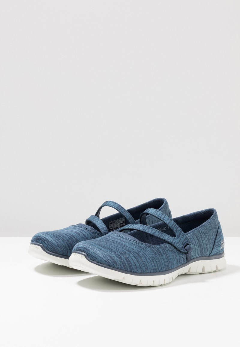 It Renew Relaxed Skechers Navy Count Flex Make FitBabies eBdCoQxWr