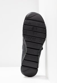 Skechers - FLEX RENEW MAKE IT COUNT RELAXED FIT - Ballerinat nilkkaremmillä - black - 6