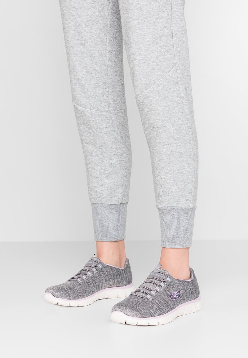 Skechers - EMPIRE SEE YA RELAXED FIT - Mocassins - grey/lavender