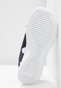 Skechers - ULTRA FLEX - Wedge sandals - navy - 6